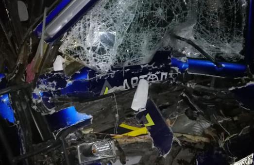 На трассе М-05 Киев – Одесса в аварию попал рейсовый автобус