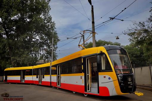 Одесса закупает шесть новых трамваев