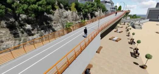 Строительство велопешеходной эстакады в Одессе обещают закончить до лета