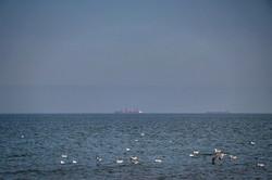 Спокойное море в Одессе перед ураганом (ФОТО)