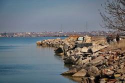 Дамба Хаджибейского лимана снова угрожает затопить целый район в Одессе (ФОТО, ВИДЕО)