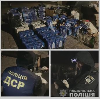 В Одесской области закрыли очередной цех по изготовлению поддельного алкоголя и сигарет