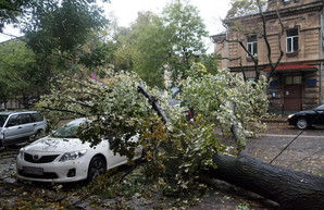 В Одессе ожидают циклон с ураганным ветром