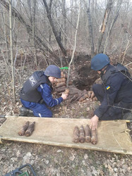 Наследие войны: в Одесской области нашли почти 400 старых боеприпасов