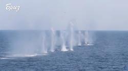 Флагман ВМС Украины на учениях расстрелял учебные цели (ВИДЕО)