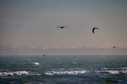 Одесса и море в ветреный мартовский день (ФОТО)