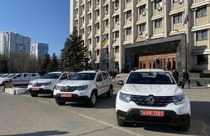Медики Одесской области получили автомобили и портативные комплексы для телемедицины