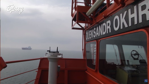 ВМС Украины впервые вывели в море из Одессы спасательное судно (ВИДЕО)