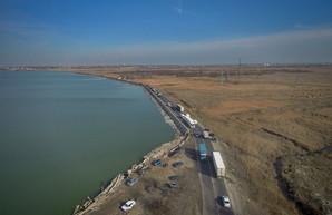 В Одессе сохраняется угроза разрушения Хаджибейской дамбы и затопления Пересыпи (ВИДЕО)