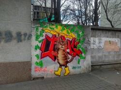 В Одессе появились новые муралы с котами (ФОТО)
