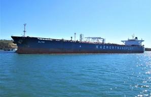 В порт Пивденный под Одессой прибыл еще один танкер с нефтью для Беларуси