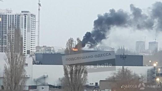 """В """"Сити-Центре"""" загорелась операторская кинотеатра: огонь быстро потушили"""
