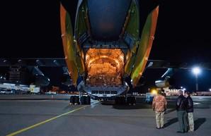 Военный самолет доставил в Украину из Китая тесты на коронавирус и многое другое (ФОТО)