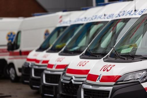 Одесская область получила 45 машин скорой помощи с аппаратами ИВЛ
