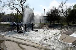 В озеро Котлабух на юге Одесской  области впервые за 13 лет начали закачивать воду