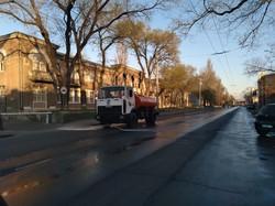 В Одессе начался сезон полива улиц