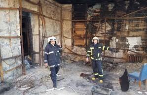 В печально известном доме Асвадурова в Одессе снова возник пожар