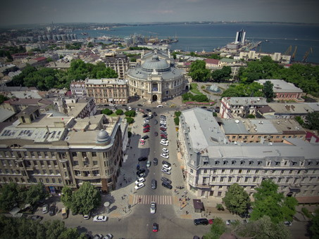 Население Одессы за время оккупации сократилось почти в три раза