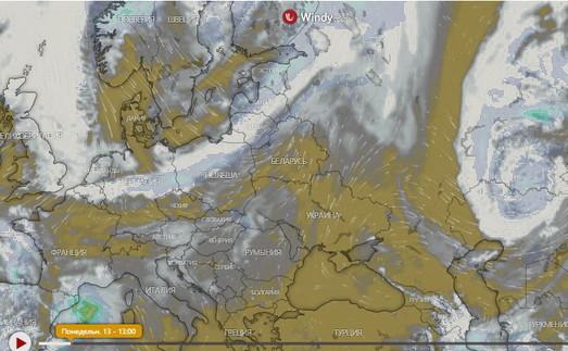 В Одессе начинается шторм
