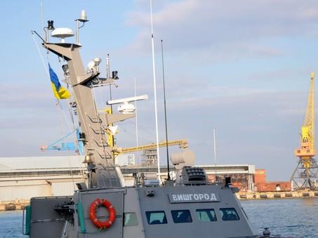Бронекатера «Вышгород», «Никополь» и буксир «Яны Капу» скоро прибудут в Одессу