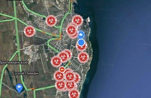 В Одесской области запустили интерактивную карту распространения коронавируса