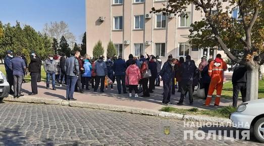 В Одесской области предприниматели митинговали против закрытия рынка