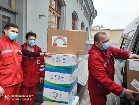 В Одесскую область прибыла новая партия средств индивидуальной защиты