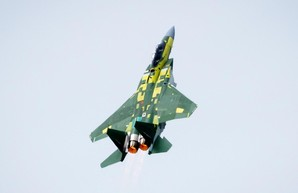"Самый-самый F-15EX взлетает ""на золото"""