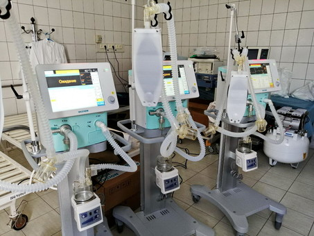 Больницы Одессы пополнили запасы медоборудования для борьбы с коронавирусом