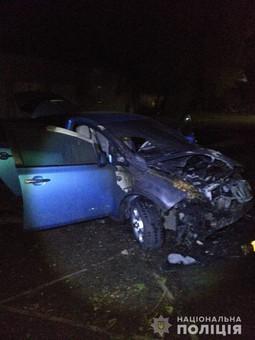 В Белгороде-Днестровском подожгли машину временного мэра города