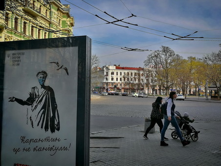 Где в Одессе следует носить маски во время карантина