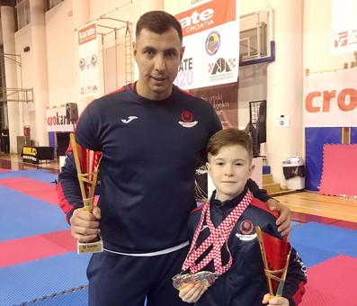 Юный одессит стал призёром международного турнира по каратэ
