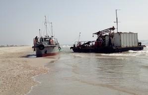 Очередное кораблекрушение в Одесской области (ФОТО)