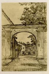 Старая Одесса сто лет назад в рисунках архитектора Синявера