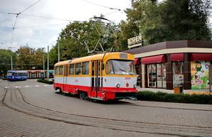 В Одессе закончили ремонт перекрестка и запустили 13-й трамвай