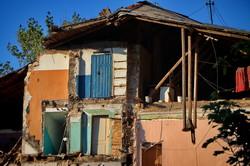 В Одессе рухнул старый дом около Нового рынка (ФОТО)