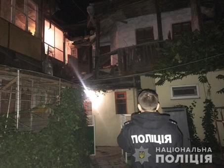 В Одессе обрушился старый аварийный дом на Среднефонтанской