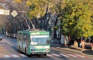 Одесский троллейбус №2 возобновил работу