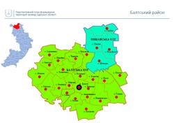 Децентрализация: опубликована карта громад Одесской области