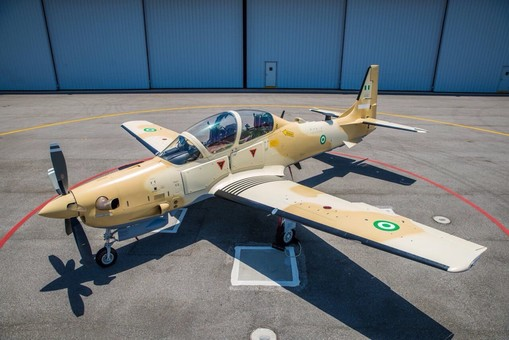 Первый штурмовик Super Tucano готов для передачи для ВВС Нигерии