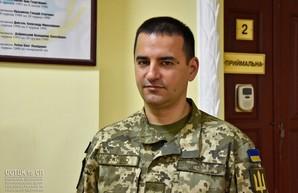 В Приморском районе Одессы - новый военком за два десятилетия