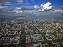 Одесса под фантастическим небом в облаках: полет над городом (ФОТО, ВИДЕО)