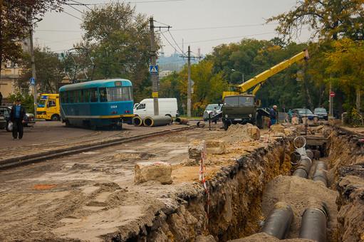 В Одессе снова раскопают Канатную для ремонта теплотрассы