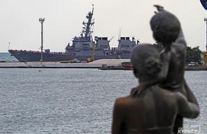 В Черное море зашел американский ракетный эсминец