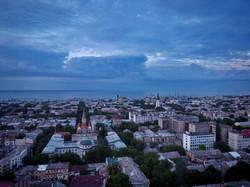 Одесса под вечерними солнечными лучами (ФОТО, ВИДЕО)