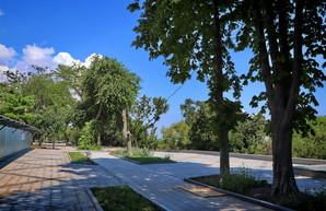 В Одессе к сентябрю обещают открыть часть отремонтированного бульвара Жванецкого (ФОТО)