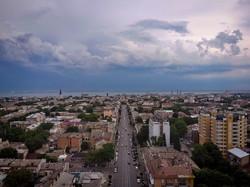 На Одессу идет гроза с градом (ФОТО, ВИДЕО)