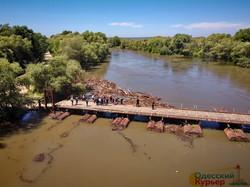 Наводнение, Днестр, аэросъемка