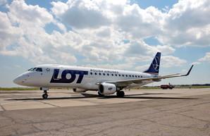 В Одессу снова будет летать польская авиакомпания LOT
