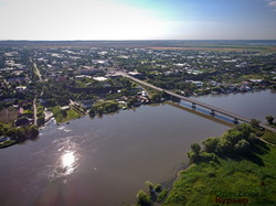 Наводнение на Днестре вплотную подобралось к трассе Одесса - Рени (ФОТО, ВИДЕО)